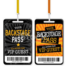 Request Backstage Passes
