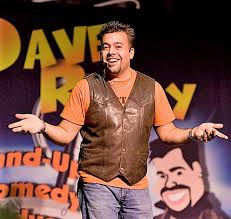 Comedian Dave Reilly
